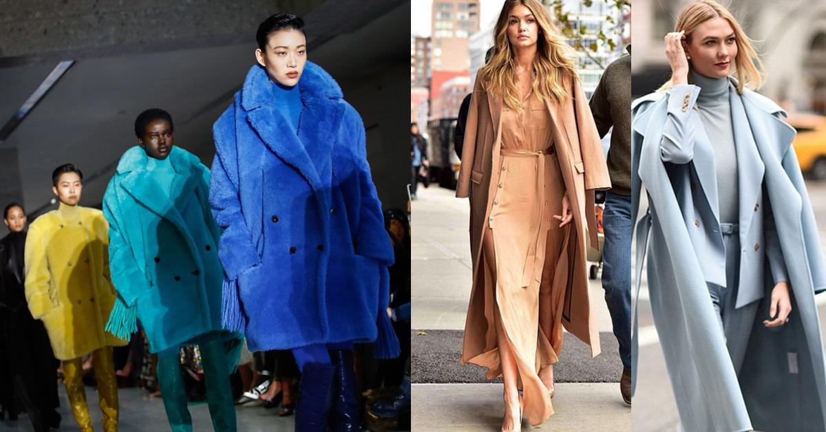 從Max Mara秋冬秀上教你如何用這5種同色系大衣穿出時髦氣質範!