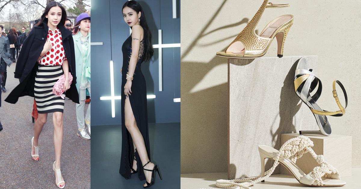 今年秋冬一定要有一雙「露趾高跟鞋」!學Angelababy、蔡依林、舒淇女人味破表的高跟鞋款推薦