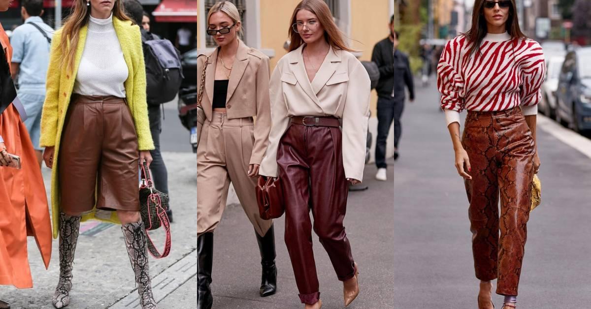 秋冬懶人穿搭就靠「它」?時裝週時髦街拍都靠這條褲子撐場!