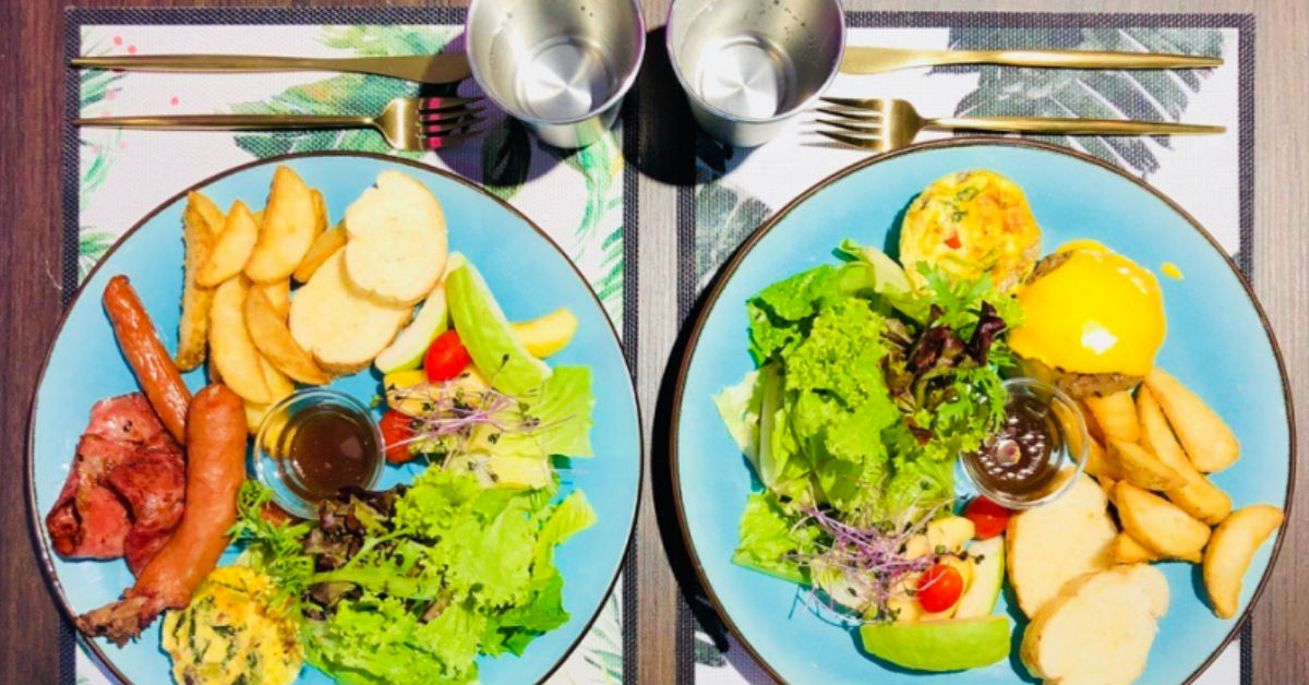 【伊康吃什麼】週末就從早午餐入境|鹿境Brunch & Cafe