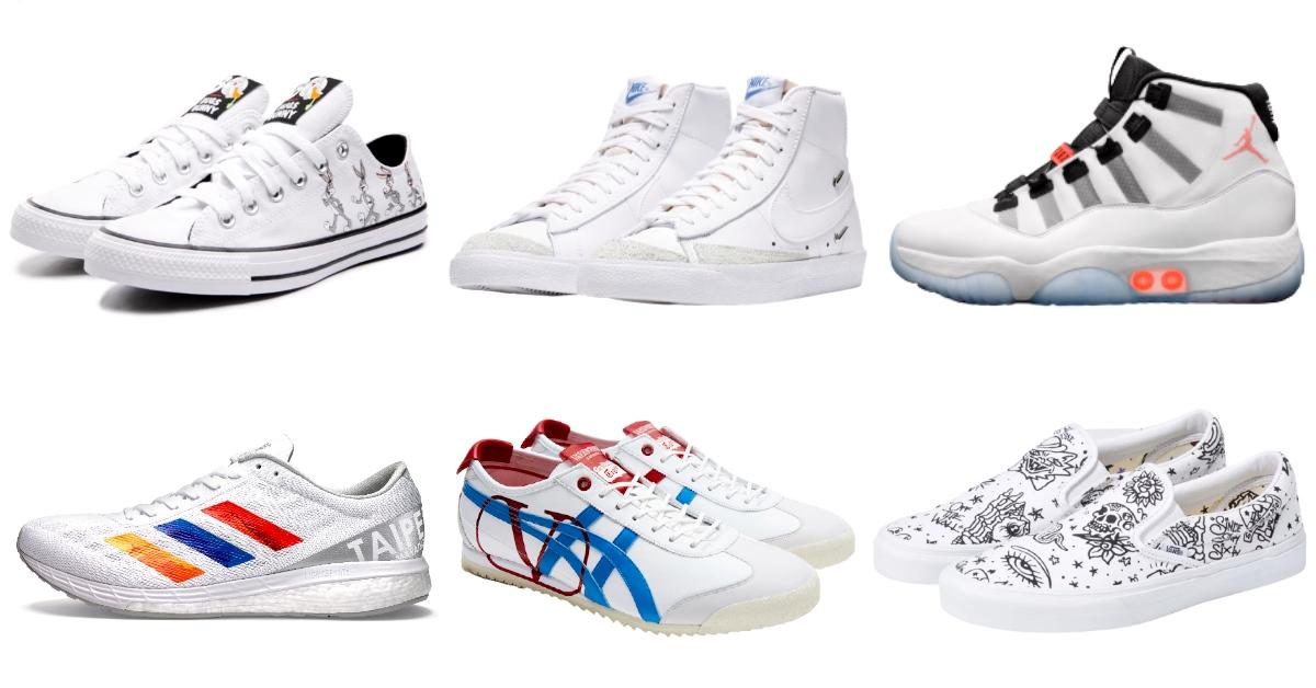 2020小白鞋推薦這10雙!Nike、Converse、Vans...休閒、正裝都百搭!