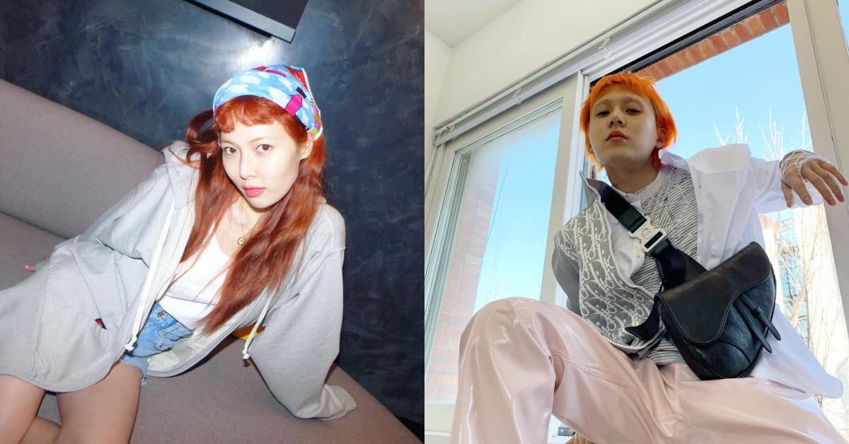 2021髮色推薦「日落橘」,初夏顯白小心機,模樣鬼靈精怪連泫雅也愛!