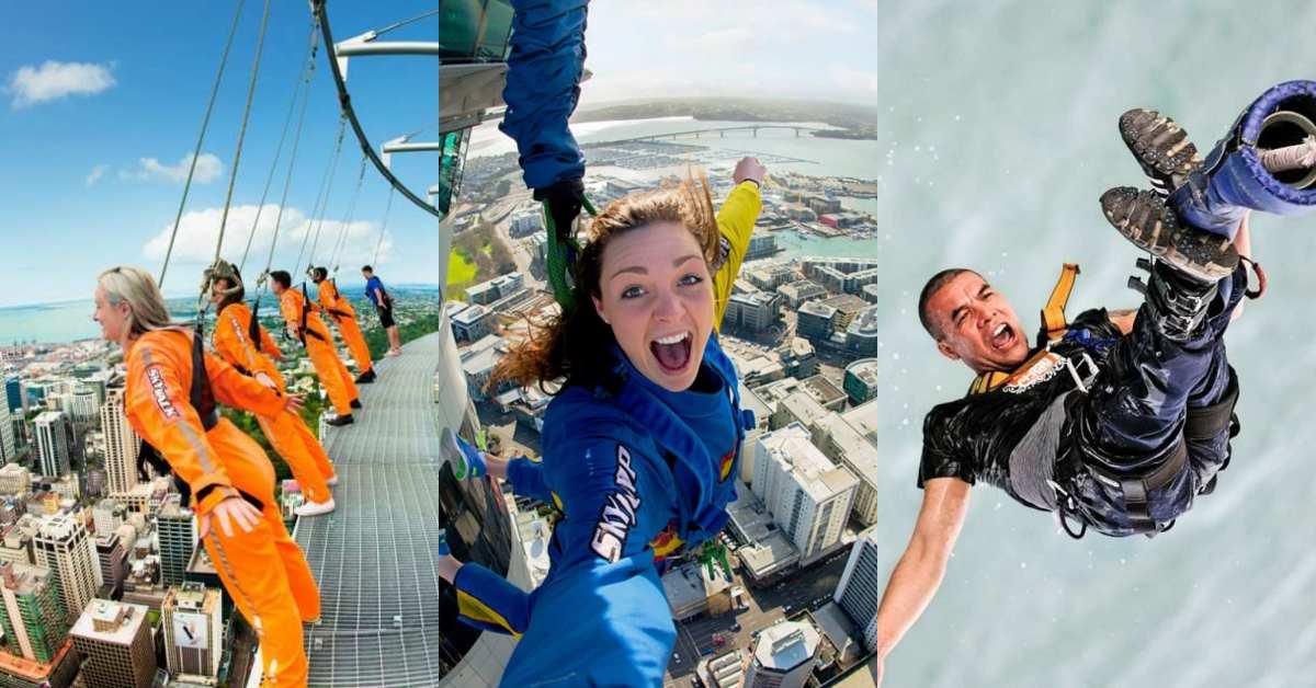 【紐西蘭】北島奧克蘭極限體驗攻略:奧克蘭海港大橋攀登&高空彈跳、奧克蘭天空塔高空漫步,完整體驗介紹與預約方式總整理!