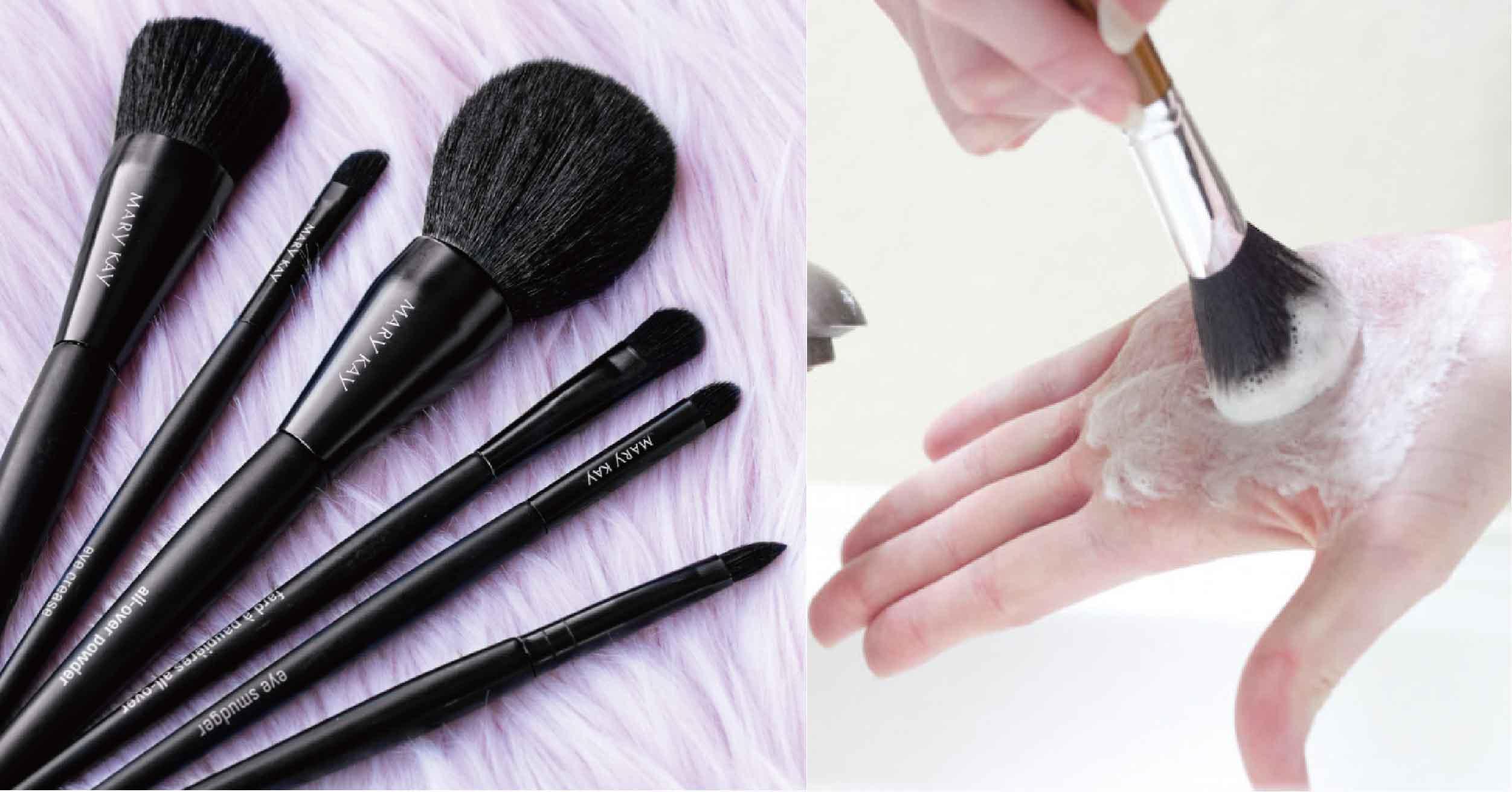 刷具清潔度會影響妝容精緻度!正確清潔刷具Tips、超強洗淨工具、錯誤方法看這篇