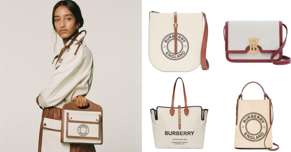 包身輕又好保養,Burberry TB包吹起帆布風潮!櫃上被問翻的這6款帆布包妳還沒跟上?