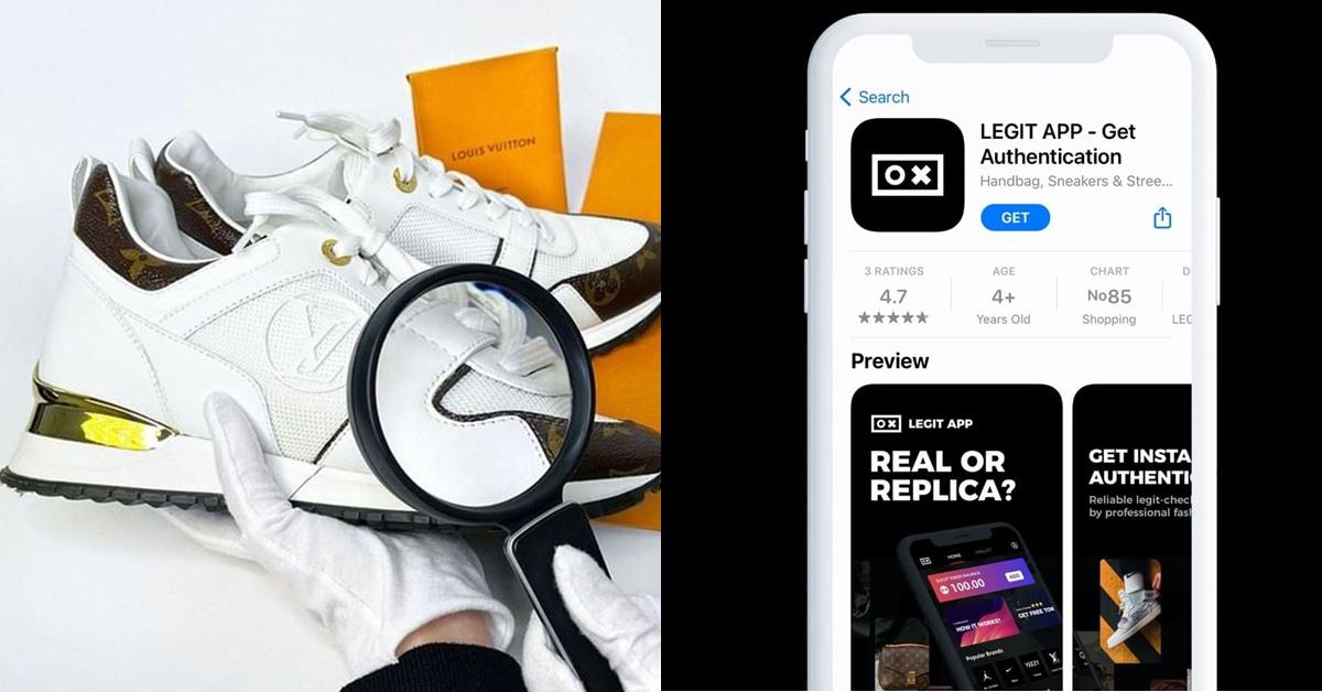 網路代購怕買到假貨?超強App推薦!幫你鑑定球鞋、精品真假貨
