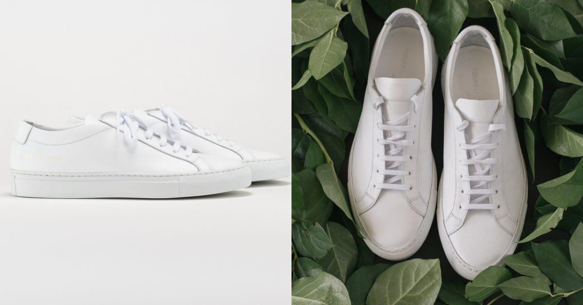 【10Why個為什麼】小白鞋風潮由它帶起!Common Projects讓小白鞋貴的很正常,維多利亞貝克漢也愛不釋手