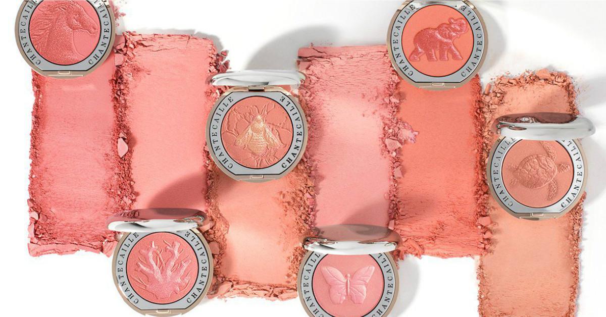 全都是仙女色啊!香緹卡推出6款動物壓紋慈善頰彩,漂亮到每ㄧ個都想收藏!
