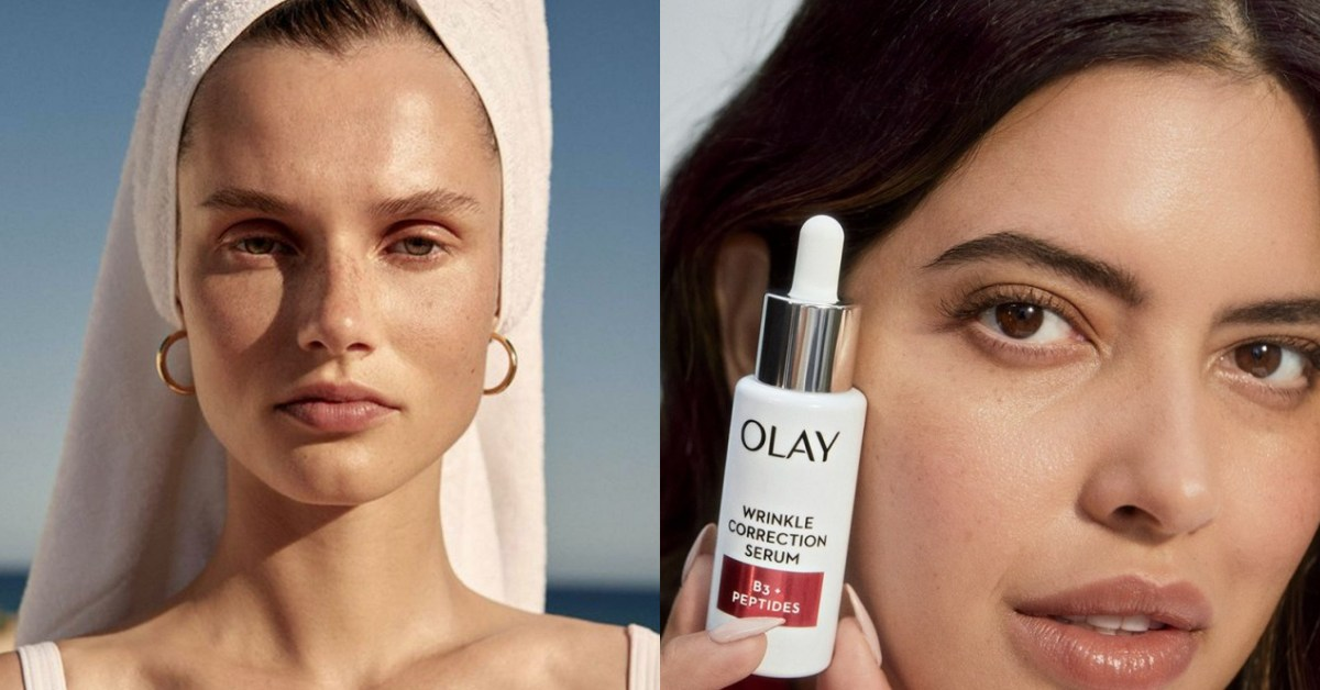 OLAY宣布未來廣告將「零修圖」,美妝到時尚品牌開始要每個女人更懂的做自己!