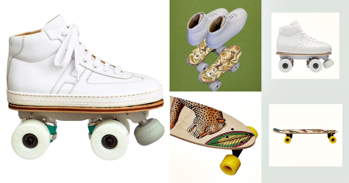 史上最奢華小白鞋?「愛馬仕」創意無極限,限量「溜冰鞋」要價超過13萬!