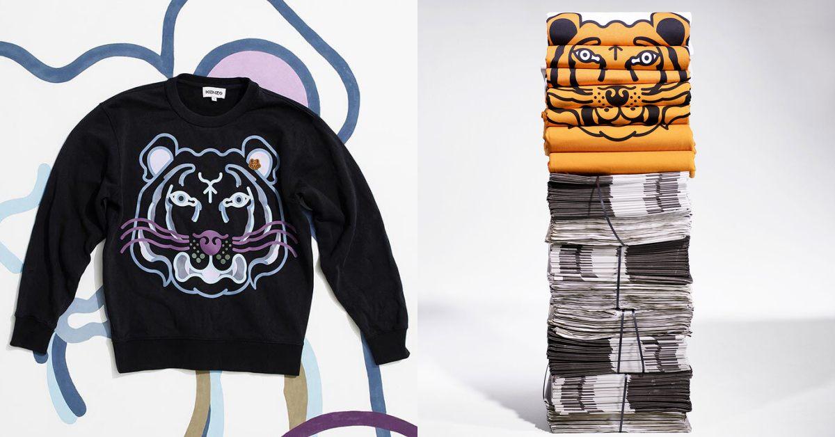 【10Why個為什麼】Kenzo新任創意總監讓 「老虎頭」再回歸!時尚部落客狂愛,經典標誌起源跟學校有關