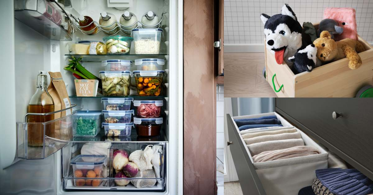 IKEA收納推薦6款好物!空間變大變整齊,雙人床不再變單人床!