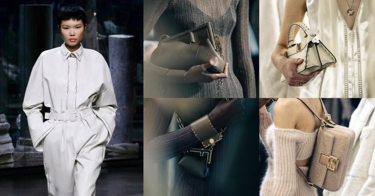 Fendi時裝秀預告全新包款「 Fendi First」!Kim Jones入主品牌首秀3大亮點,迷你包、手拿包...2021年秋冬精彩可期!