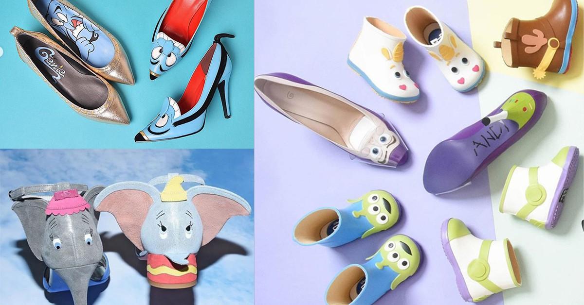 小飛象、玩具總動員躍上高跟鞋!日本品牌《Diana》讓你把可愛穿上腳