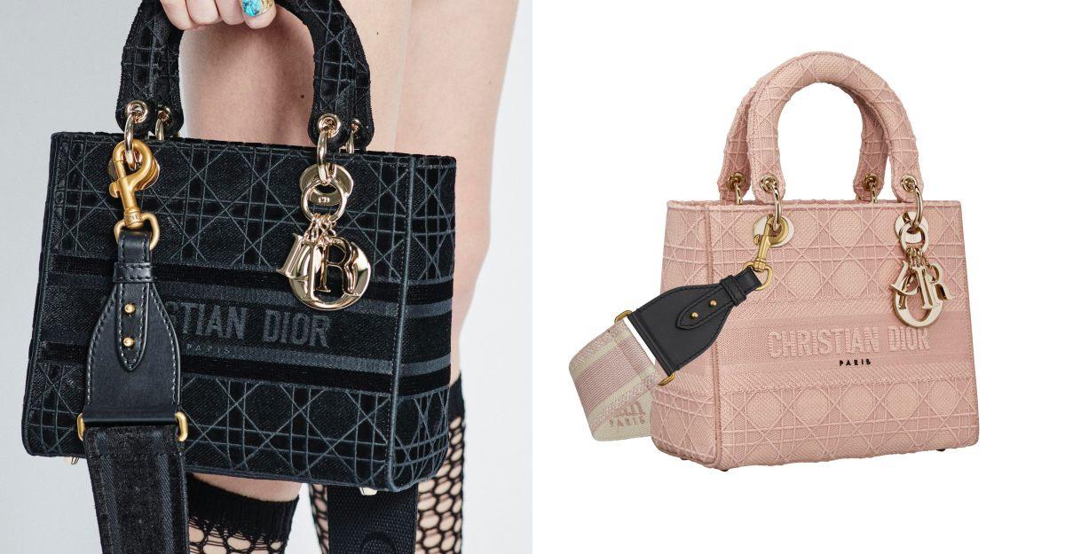 Dior「Lady Dior」包大減齡!手工刺繡、華麗絲絨,經典包一夕變年輕20歲