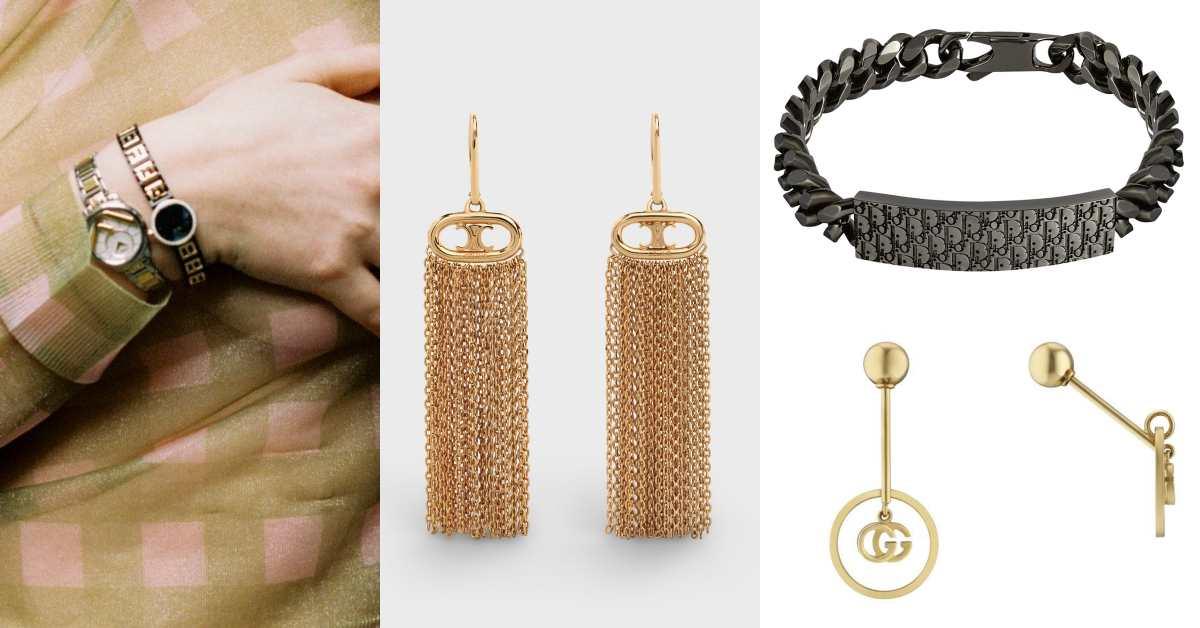 比老花包更搶手!從Fendi、Celine、Dior到Gucci全吹起復古Logo飾品風潮你跟上了嗎?