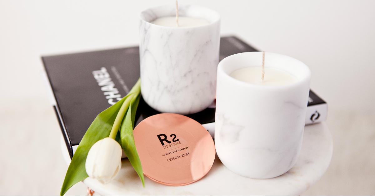 一罐就能改變居家氣氛,來自澳洲的天然玫瑰金大豆蠟燭!
