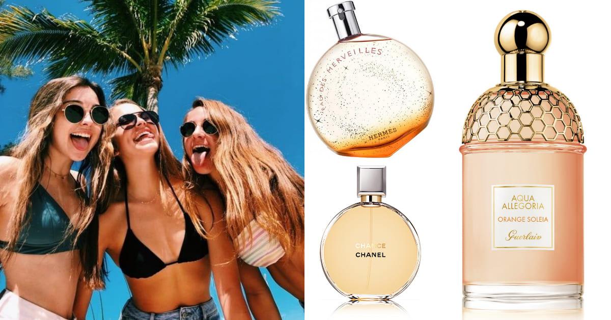 2020夏天最消暑!6款「柑橘果香調」香水推薦,一噴體感溫度瞬間降5度