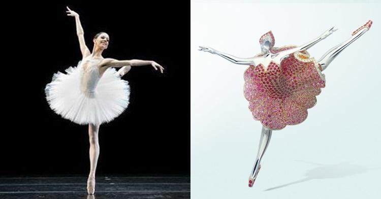 以幸運四葉草珠寶聞名的梵克雅寶,原來跟芭蕾舞還有這段淵源啊~