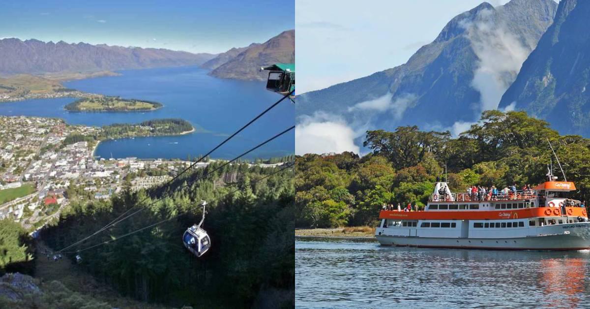 【紐西蘭】紐西蘭南島&皇后鎮必去景點推薦:米佛峽灣、弗朗茲約瑟夫冰川、皇后鎮纜車、蒸汽船還有魔戒格林諾奇小鎮一日遊!