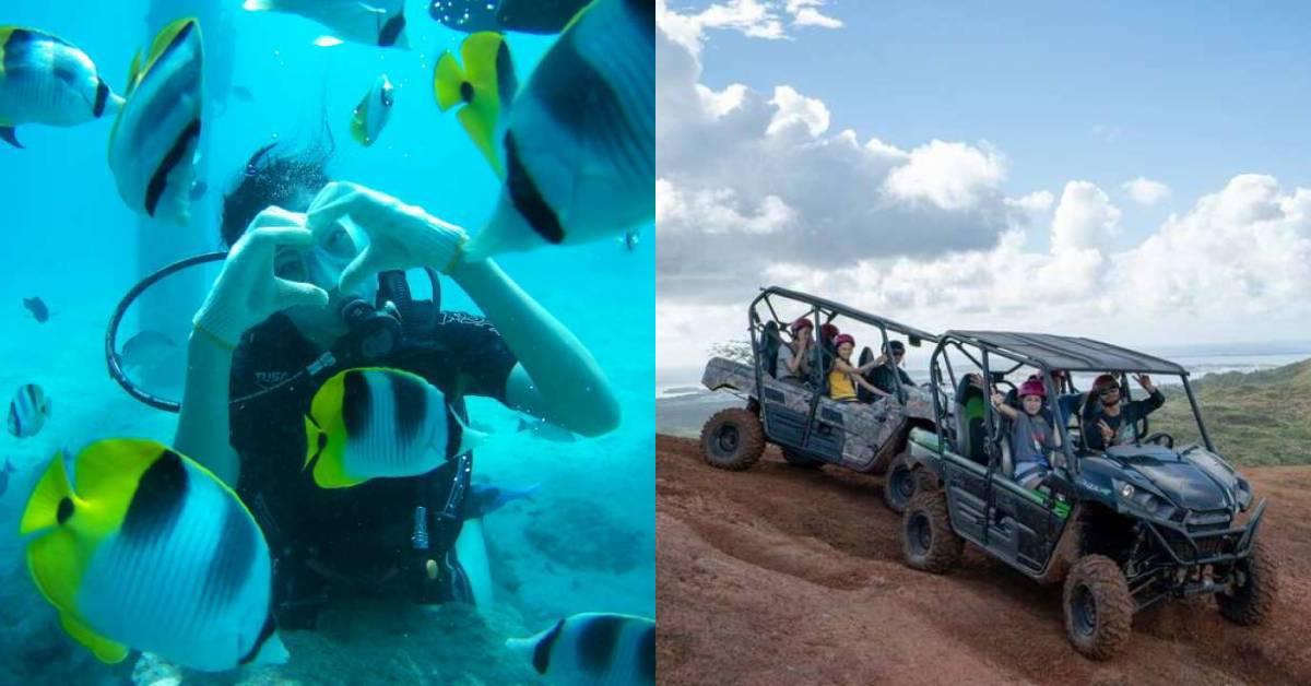 【美國】關島冒險體驗:關島必去高空跳傘、水肺潛水、駕駛小飛機、鴨子船、ATV越野體驗,來個最刺激的關島冒險!