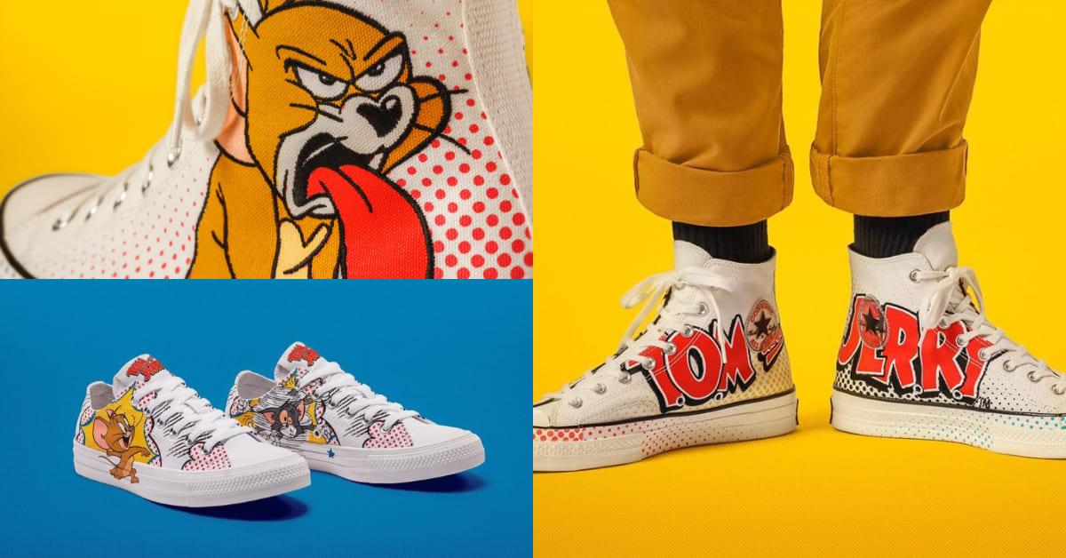 這雙聯名鞋不收怎麼可以!快把Converse的《湯姆貓與傑利鼠》新款穿在腳上