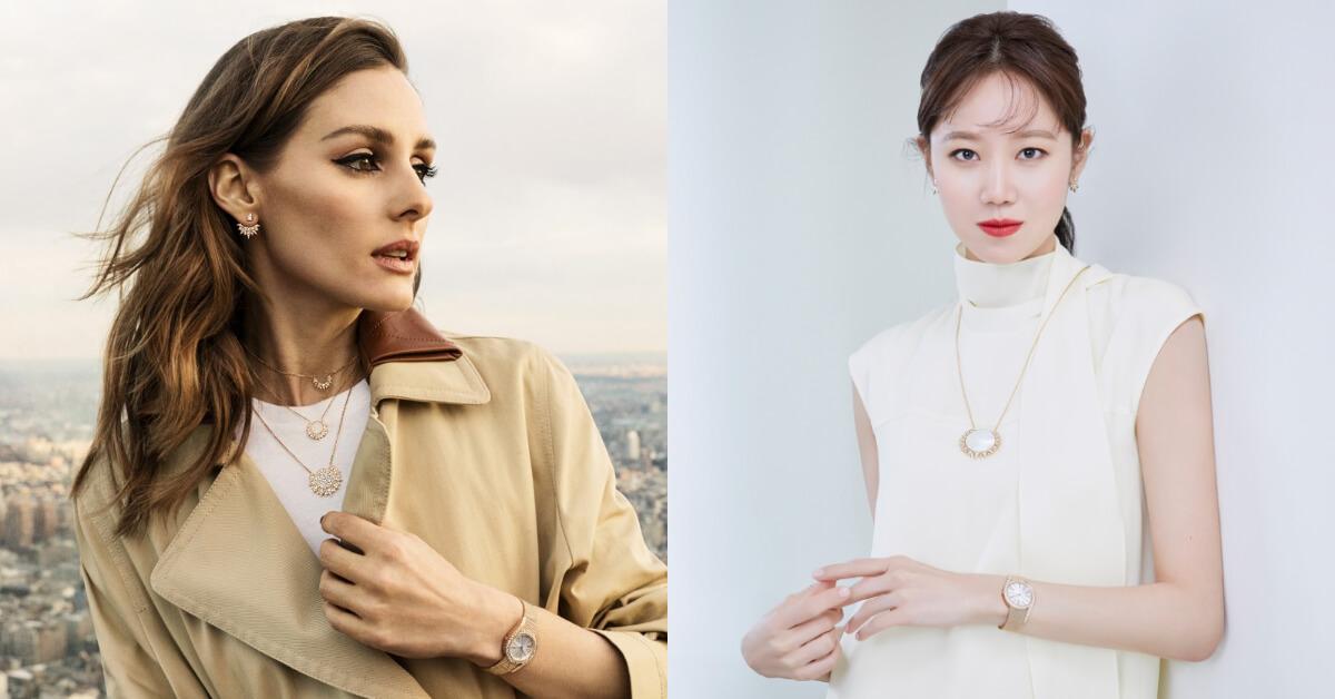 孔曉振和Olivia Palermo的輕珠寶穿搭術,今夏一起散發名媛般的氣質