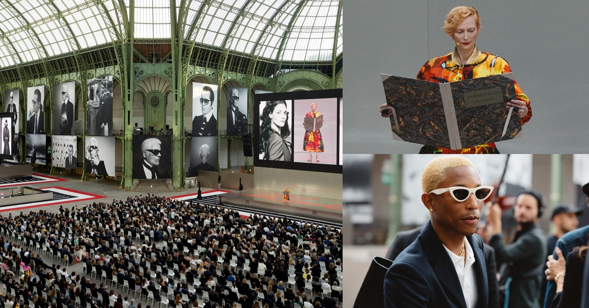 「Karl For Ever」追思會!2500位嘉賓,朗朗、蒂妲史雲頓、菲董共同緬懷永遠的老佛爺