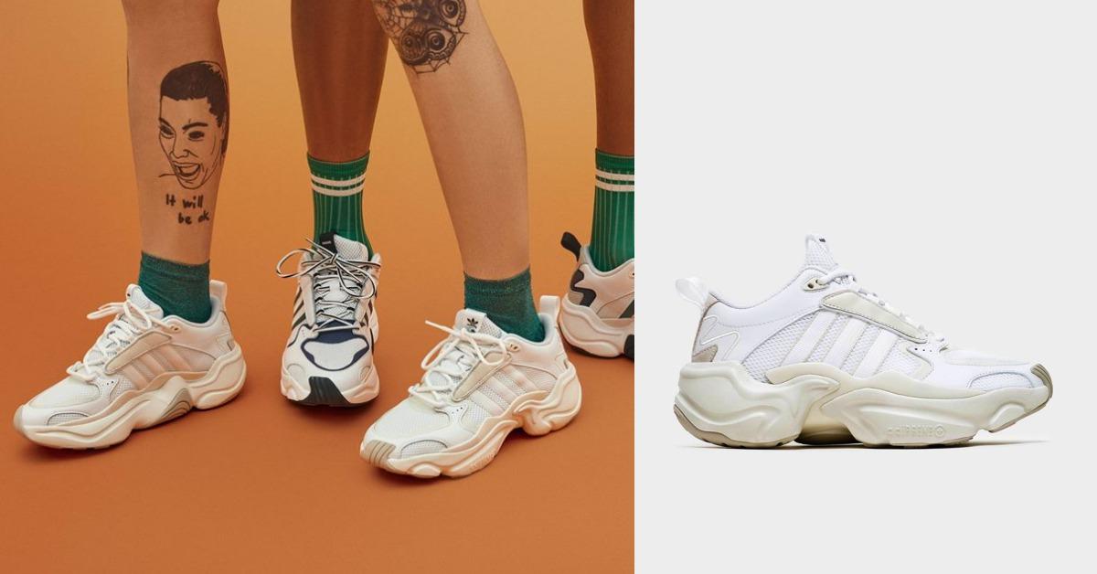 鞋櫃裡就缺這雙!「老爹鞋」搭上奶茶色風潮,adidas又來搶荷包了