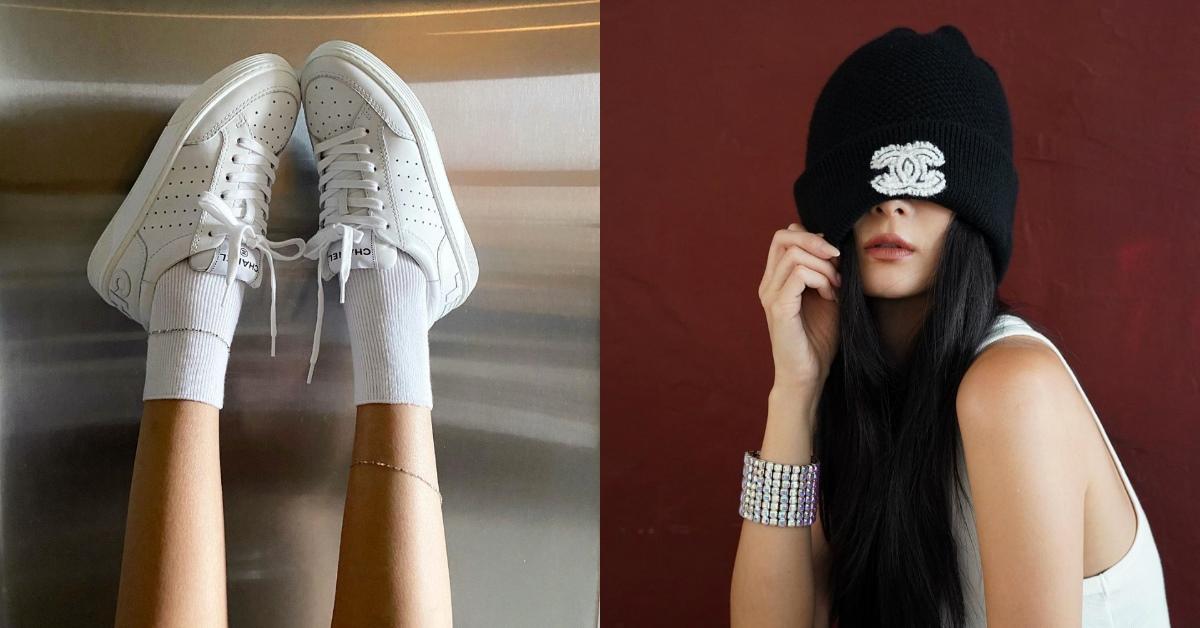 小白鞋搭配學學孫芸芸!Chanel、Dior、BV..5款各式白色鞋子,秋冬誰說不能穿涼鞋?