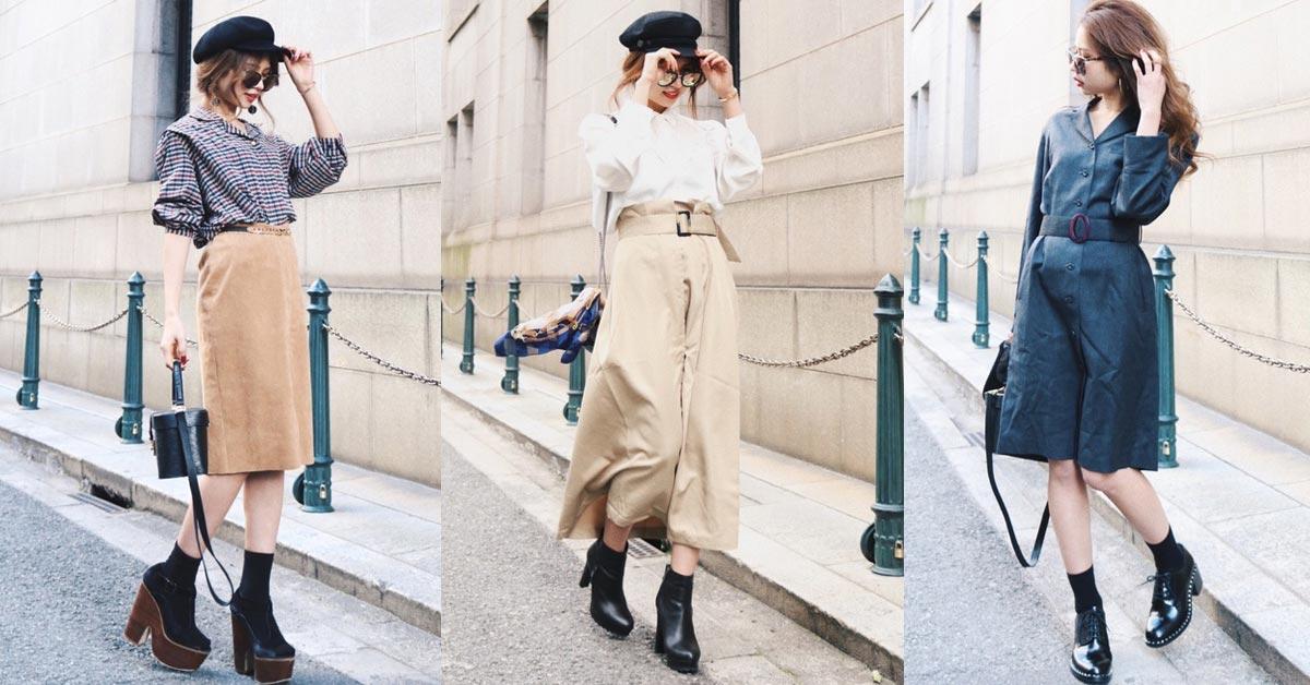 4個日本女生都在穿的單品,讓嬌小個子也能穿出歐美身材