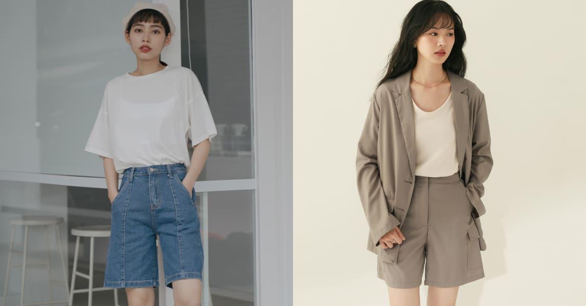 2021春夏五分褲穿搭,顯瘦修身的高CP值單品,可甜可帥超百搭!