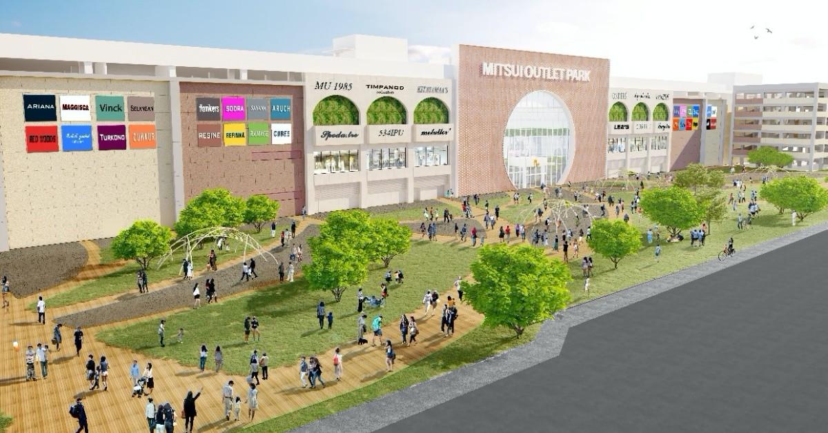 打造南臺灣最大OUTLET !「三井OUTLET」預定2022年於台南盛大開幕