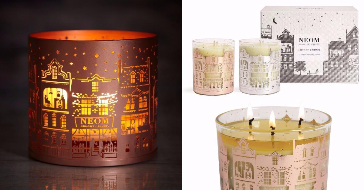 有了這道光和味道,彷彿走在英國倫敦的街頭,今年就用NEOM香氛蠟燭點燃你的浪漫聖誕節!