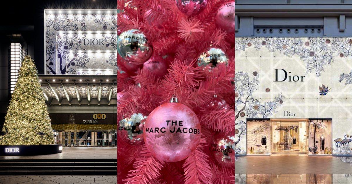 搜羅台北時尚聖誕打卡點!聖誕童話世界、剪紙裝置、粉色聖誕樹讓冬日浪漫起來