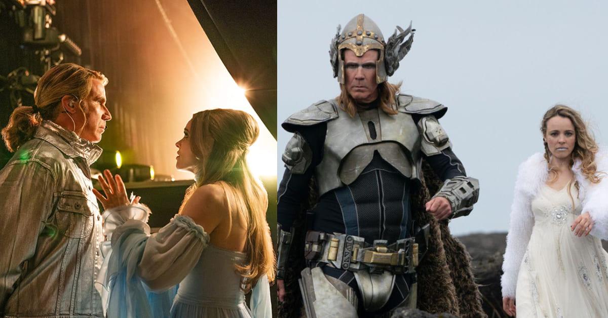Netflix《歐洲歌唱大賽:火焰傳說》女神搞笑無極限!威爾法洛、瑞秋麥亞當斯搞Band,嗨唱笑瘋觀眾