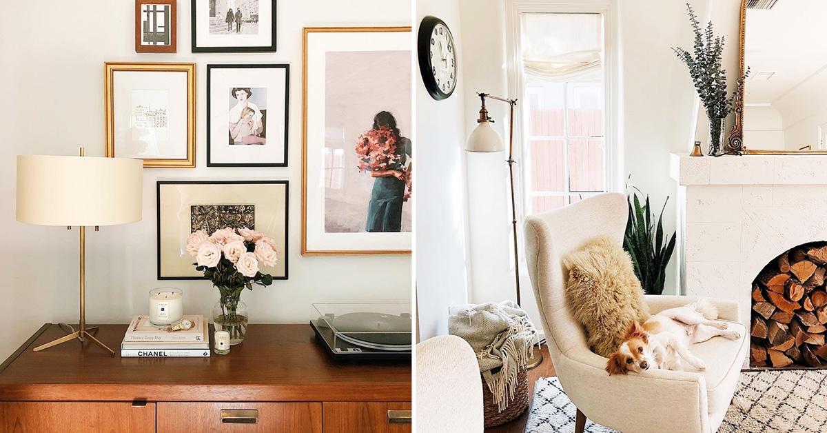 打造適合自己的居家時尚!用這4個空間佈置帳號來獲得靈感