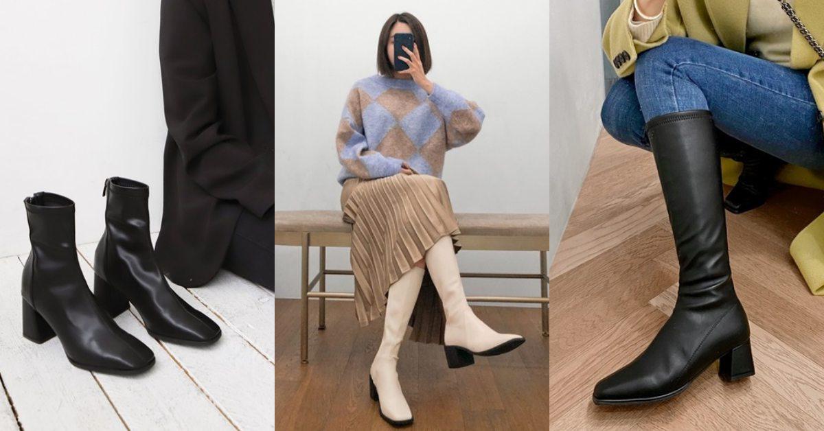 2020年這4種靴款才是大勢!小方頭靴、膝下靴...修飾O型腿,讓視覺腿長神奇激增