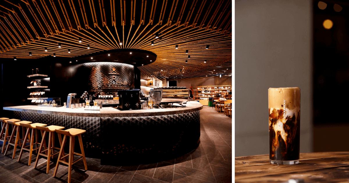 Starbucks摩登典藏門市101開幕!低調奢華吧台區超美 推精采限定如義大利Affogato咖啡、香草烤雞溫野菜等6樣!