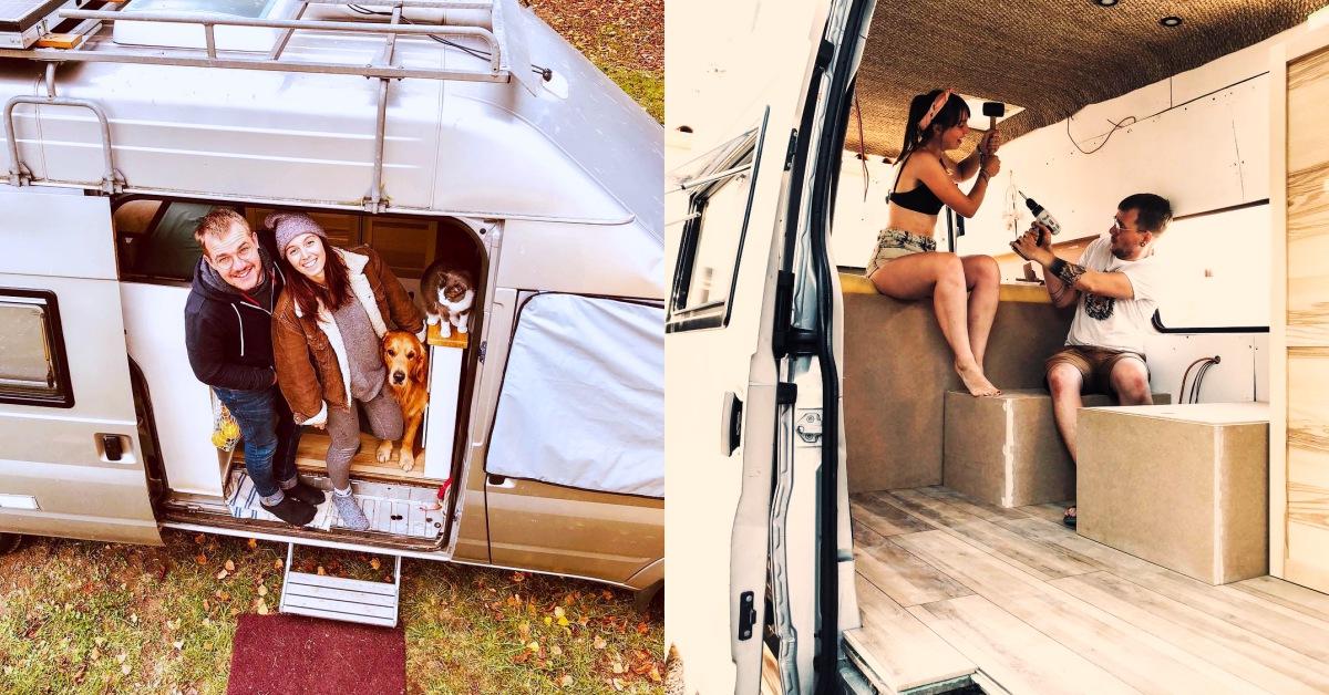 這對法國情侶用旅遊實踐生活斷捨離:「車在哪裡,家就在哪裡」