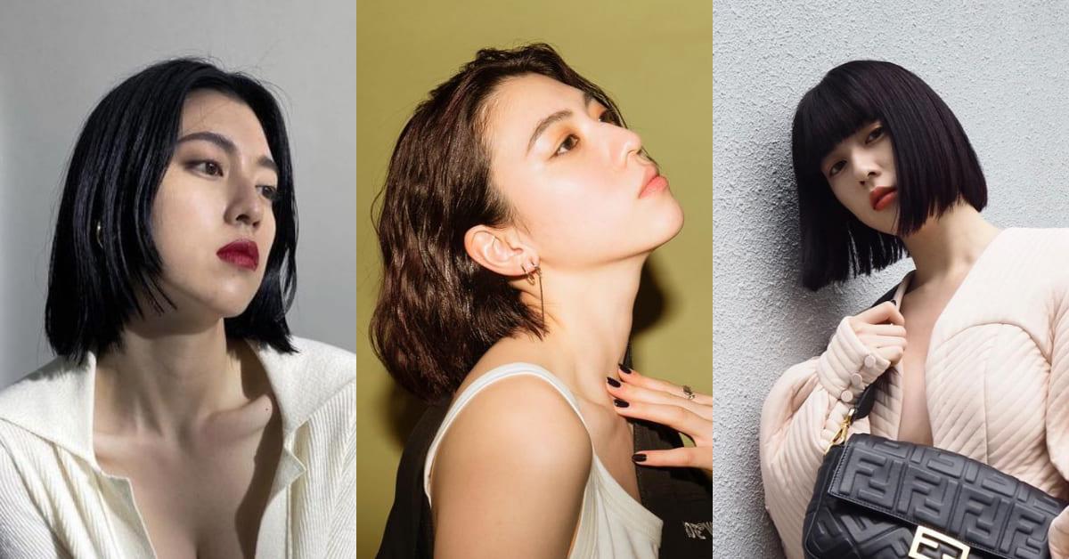 《今際之國》三吉彩花根本短髮教科書!5大髮型重點整理,2021小臉髮型首選這款