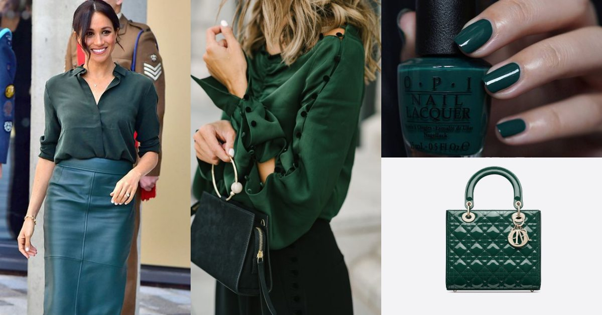 穿搭也要跟上iPhone11 Pro「夜幕綠」風潮!從指彩、襯衫、西裝到包包換上這質感滿分色