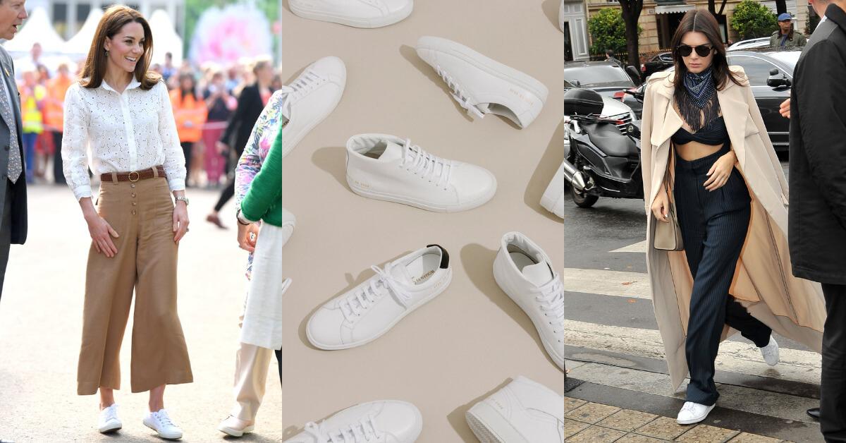 夏天就是要來一雙小白鞋!這4個品牌凱特王妃、Kendall Jenner都愛穿