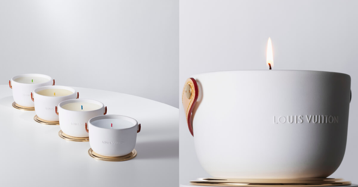 皮革和陶瓷混搭的最高境界!時尚人士也在搶LV推出的這款香氛蠟燭