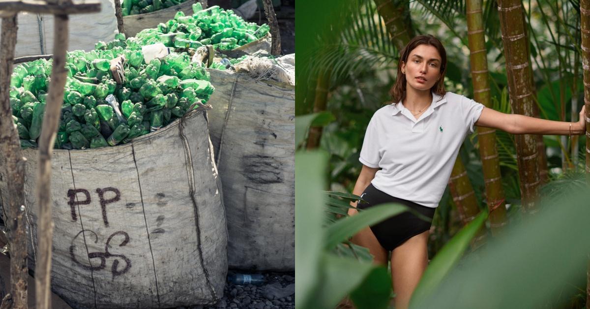 把寶特瓶變衣服?Ralph Lauren推全新系列,回收你隨手丟棄的塑料做成Polo衫
