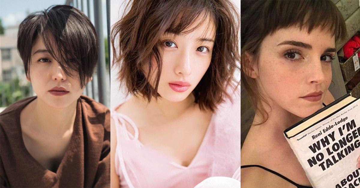 女星們紛紛剪髮換造型,2018最流行的髮型有這些