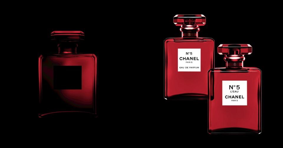 這個紅好美!香奈兒經典香穿上「摩登紅」迎聖誕佳節!CHANEL推出 N°5 紅色限定版