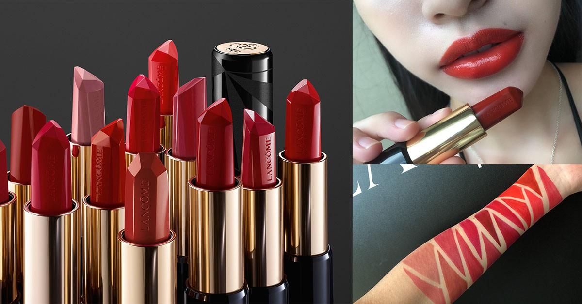 《蘭蔻》最新鑽石切割唇膏超夢幻!3D絕美切面,奢華命定紅唇「就是它」