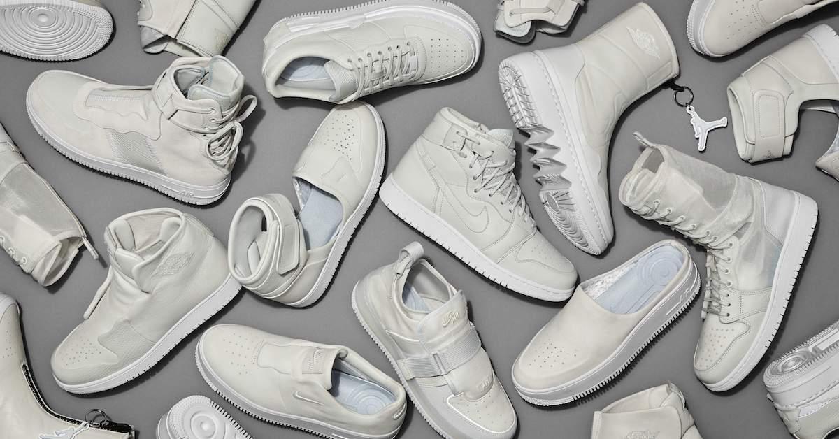 白球鞋再添生力軍,Nike 推出 The 1 Reimagined 系列,顛覆 Nike Air Force 1及 Air Jordan 1 兩雙經典鞋款!