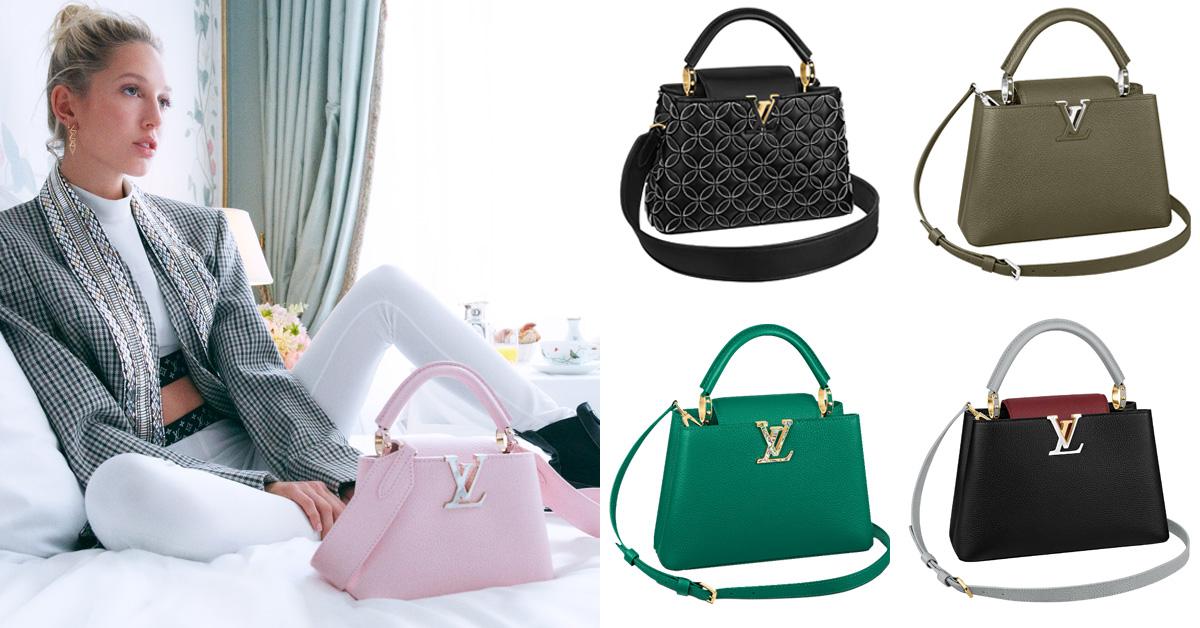 LV麻將包先放下!品牌IT Bag「Capucines」又出新色,綠色根本是為了2021牛年而設計
